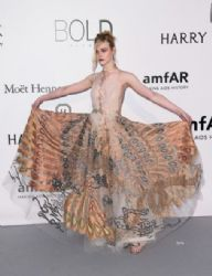 Elle Fanning: amfAR's 23rd Cinema Against AIDS Gala - Arrivals