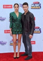 Olivia Culpo and Nick Jonas: 2015 Radio Disney Music Awards