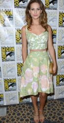 Lyndsy Fonseca: CW series Nikita during day one of 2012 Comic-Con held at the San Diego Convention Center in California