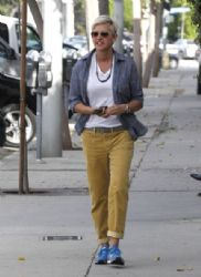 Ellen DeGeneres was seen out and about in Los Angeles