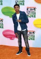 Diggy Simmons at Nickelodeon's 25th Annual Kids' Choice Awards