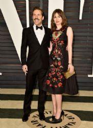 Emily Mortimer and  Alessandro Nivola: Elton John AIDS Foundation Oscars 2015 Viewing Party