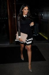 Rochelle Wiseman: at Amika club at mayfair London