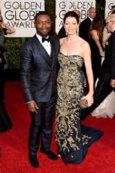 David Oyelowo and Jessica Oyelowo: 72nd Annual Golden Globe Awards 2015- Arrivals