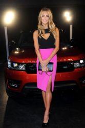 Jennifer Hawkins wears Yeojin Bae - Range Rover Sport Launch Event