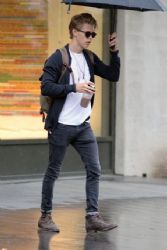 Austin Butler's Rainy Day Stroll In NYC