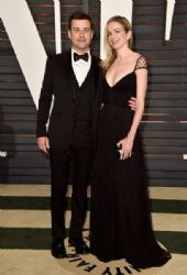 Jimmy Kimmel and Molly McNearney: 2015 Vanity Fair Oscar Party