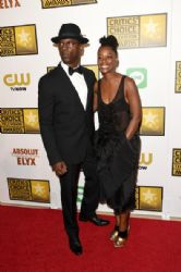 Isaiah Washington and Jenisa Marie Washington: Arrivals at the Critics' Choice Television Awards