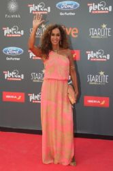Rosario Flores: TNTLA Platino Awards 2015 - Red Carpet