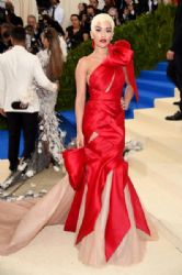 Rita Ora in Marchesa Dress :  2017 Met Gala