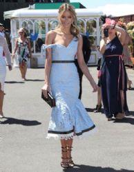 Jennifer Hawkins: Celebrities Attend Oaks Day