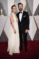 Olivia Wilde and Jason Sudeikis : 88th Annual Academy Awards