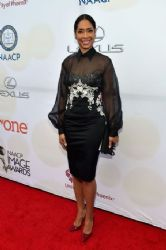 Gina Torres - 46th NAACP Image Awards