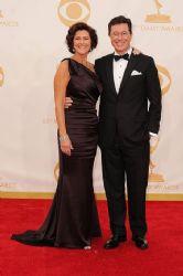 Stephen Colbert and Evelyn McGee-Colbert: Primetime Emmy Awards 2013