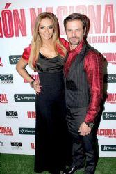 Cecilia Galliano and Mark Tacher: movie premiere
