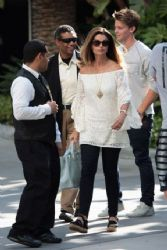 Maria Shriver: LA Kings play in the Stanley Cup finals Staples Center in Los Angeles