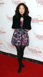 Sandra Oh attends the Academy of Television Arts & Sciences Foundation's 33rd Annual College Television Awards at the Renaissance Hollywood Hotel on March 31, 2012 in Hollywood