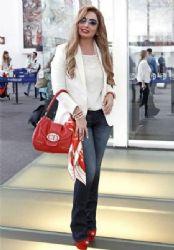 Patricia Navidad: airport look