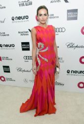 Camilla Belle: Elton John AIDS Foundation Oscars 2015 Viewing Party
