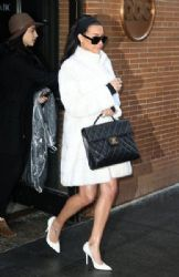 Naya Rivera: leaving 'The View' TV show in New York City