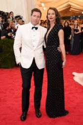 Edward Burns and Christy Turlington: Red Carpet Arrivals at the Met Gala 2014