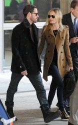 Kate Bosworth & Michael Polish's Fashionable LAX Landing