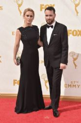 Katie Cassidy and Dana Brunetti: 67th Annual Emmy Awards