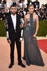 Zayn Malik and Gigi Hadid attend the