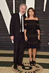 John McEnroe and Patty Smyth : Elton John AIDS Foundation Oscars 2015 Viewing Party