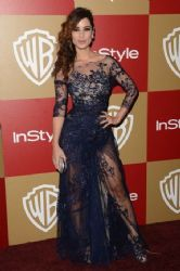 Bérénice Marlohe: 14th Annual Warner Bros. And InStyle Golden Globe Awards After Party