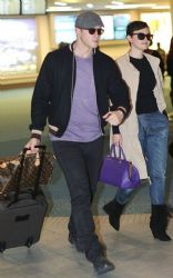 Ginnifer Goodwin: showed up at Canada's Vancouver Airport