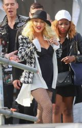 Christina Aguilera: 2014 New Orleans Jazz Festival