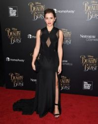 Emma Watson in Givenchy : 'Beauty And The Beast' New York Screening