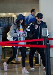 Eliza Doolittle & Benji Madden At LAX
