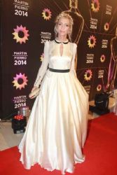 Cris Morena: Martin Fierro Awards 2014