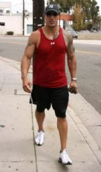 Dwayne Johnson Leaving The Gym In Venice