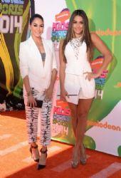 Brianna and Nicole Garcia: Nickelodeon Kids' Choice Sports Awards 2014