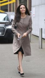 Angelina Jolie  at the London School for Economics and Political Science