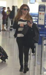 Helena Paparizou: airport look
