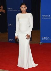 Naya Rivera: attends the 101st Annual White House Correspondents' Association Dinner at the Washington Hilton
