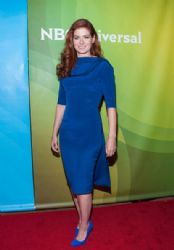 Debra Messing wears Hellessy - NBCUniversal's 2014 Summer TCA Tour Day 1