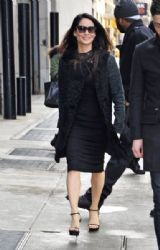 Lucy Liu: out and about in NYC