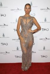 Leona Lewis in Yousef Al-Jasmi Dress : The Weinstein Company's Academy Awards Viewing and After Party