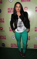 Joanna 'JoJo' Levesque  at Perez Hilton's Mad Hatter Tea Party Birthday