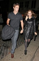 Kelly Brook and Thom Evans Out in Mayfair