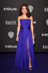 Salma Hayek: InStyle And Warner Bros. Golden Globes 2015 Party