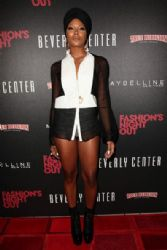 Eva Marcille arrives at Fashion's Night Out 2012 at Beverly Center on September 6, 2012 in Los Angeles, California