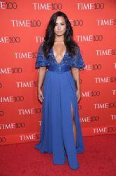 Demi Lovato in Zuhair Murad  Dress : 2017 Time 100 Gala