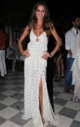 Izabel Goulart: party style