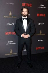 Milo Ventimiglia: 2016 Weinstein Company And Netflix Golden Globes After Party - Red Carpet
